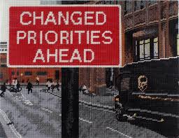 Michelle Hamer, 'Changed Priorities Ahead (detail) , 2015